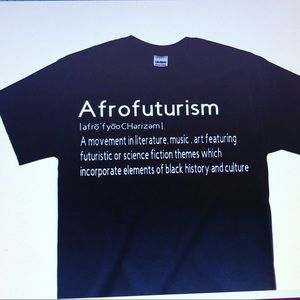 """Gildan Graphic T-Shirt """"Afrofuturism"""